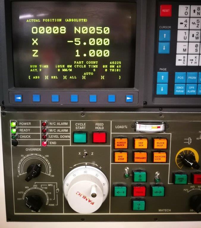 Maschinendisplay Lino
